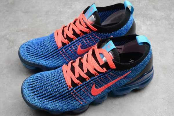 Buy Nike Air Vapormax Flyknt 3.0 Royal Blue/Fluorescent Red-Black