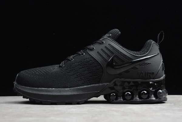 524977-506 Mens Nike Air Max 2019 Triple Black For Sale