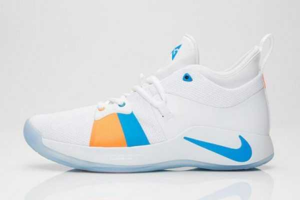 "New Nike PG 2 ""The Bait II"" White/Photo Blue AJ2039-100"