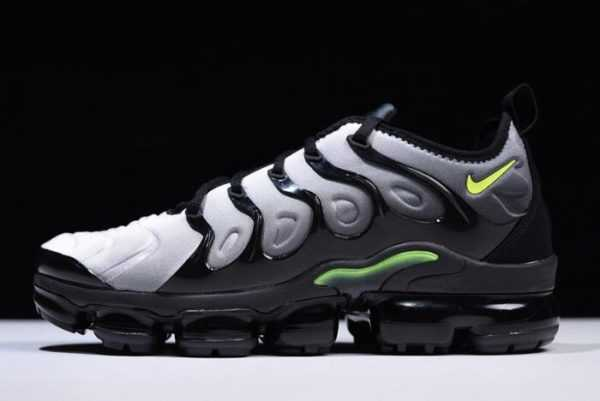 Mens Nike Air VaporMax Plus Black/Volt-White 924453-009