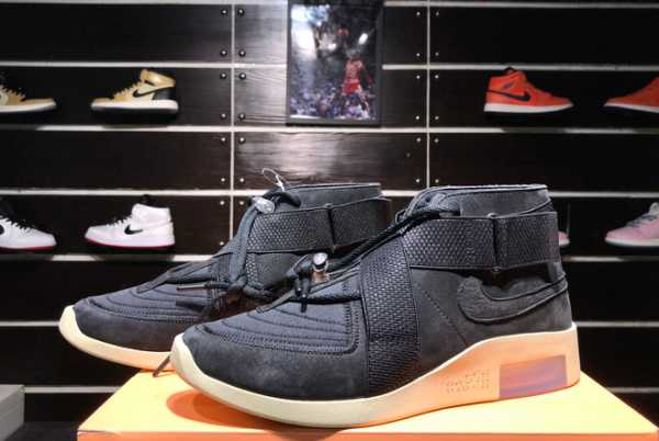 Cheap Nike Air Fear of God 180 Black/Black-Fossil AT8087-002 For Sale
