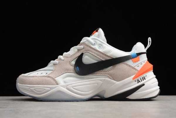 2018 Off-White x Nike M2K Tekno Beige White Outlet Sale