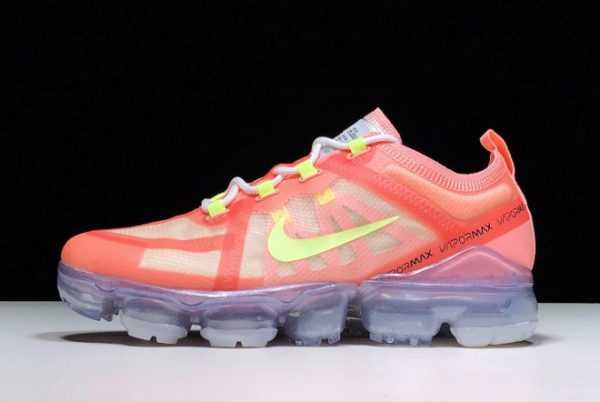 Nike WMNS Air VaporMax 2019 Pink Tint/Barely Volt-Light Cream AR6632-602