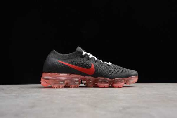 Women's NikeLab Air VaporMax Flyknit Black/Big Red AA3859-016