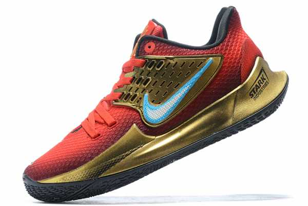 2020 Nike Kyrie 2 Red/Metallic Gold-Blue For Sale