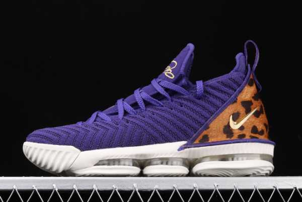 2020 Nike LeBron 16 XVI EP LBJ King Court Purple AO2595-009 For Sale