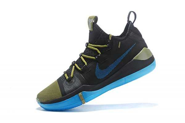 2018 New Release Nike Kobe AD Black/Metallic Gold-Blue