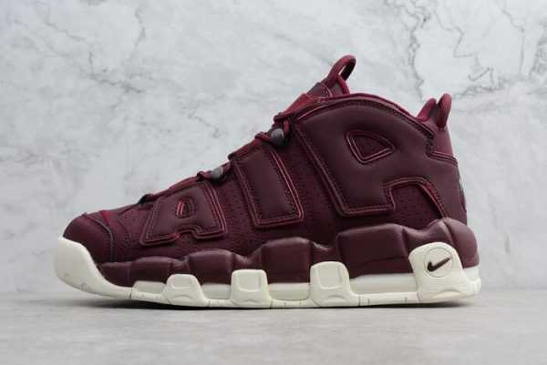 "Men's Nike Air More Uptempo ""Bordeaux"" Night Maroon/Sail 921949-600"