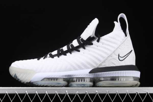 2020 Nike LeBron 16 XVI EP Equality Black White BQ5970-101 For Sale