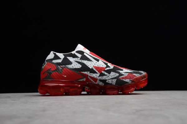 Nike Air Vapormax FK Moc 2 Black/White-University Red For Sale