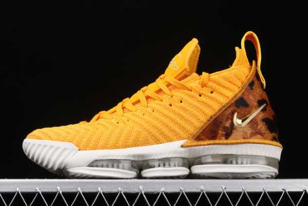 2020 Nike LeBron 16 XVI EP LBJ Yellow/White AO2595-010 For Sale