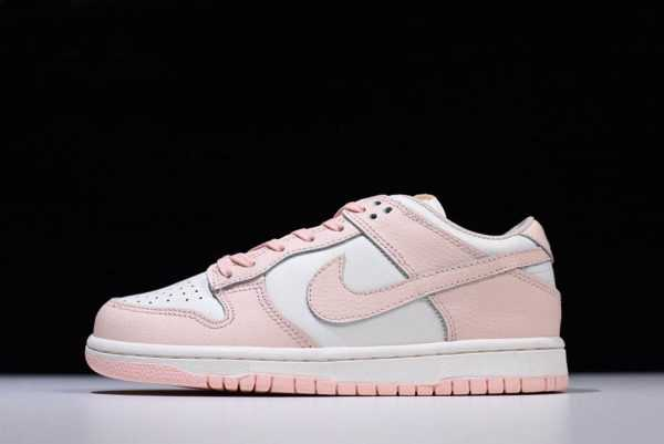 Women's Nike Wmns Dunk Low Sail Sunset Tint 311369-104 Shoes
